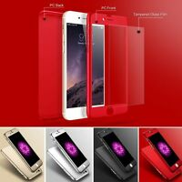 360 Full Protective Case Cover With Screen Protector For Various Apple Samsung