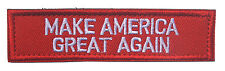MAKE AMERICA GREAT AGAIN ARMY Patches LOGO  HOOK PATCH  hk  848