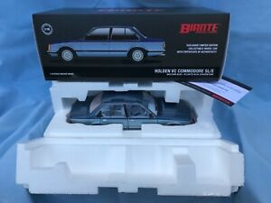 1:18 Biante Holden VC Commodore SL/E Nocturn Blue / Atlantis Blue