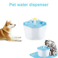 Pet Water Fountain Nylon Filter Electric Automatic Water Dispenser for Cat Dog