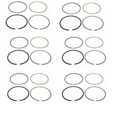 6X GENUINE MAHLE ENGINE PISTON RING SET BMW