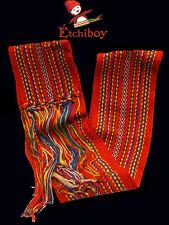 Metis Sash Etchiboy Ceinture Fléchée Carnaval Red Rouge Polyester Medium Moyenne