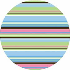 Wall Pops Ribbon Candy Blue Circles Stickers Decals WPD93800