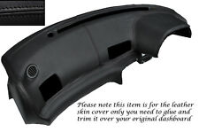 BLACK STITCH DASH DASHBOARD LEATHER COVER FITS NISSAN SKYLINE GTS GTR R32 89-94