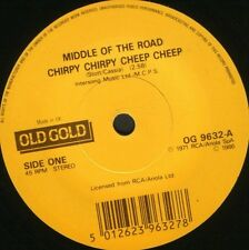 """MIDDLE OF THE ROAD chirpy chirpy cheep cheep  tweedle dee dum 7"""" WS EX/ OG9632"""