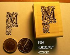 P96 calligraphy letter M