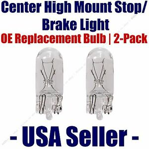 Center High Mount Stop/Brake Bulb 2pk - Fits Listed Merkur Vehicles - 168