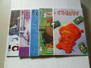 2015 Chew (Image) BLOOD BUDDIN Complete Set of 5 Comics (46-47-48-49-50) NM/1ST!