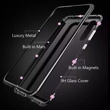 Tempered Glass - Magnetic Frame Case - iPhone X Compatible - WAS $60 $CLEARANCE$