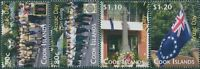 Cook Islands 2010 SG1566-1569 Scouts Girl Guides Anzac Day set MNH