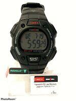 Timex T5K822 Men's Ironman 30 Lap Resin Watch Alarm Indiglo Chronograph