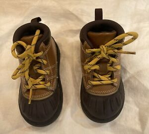 Nike ACG Woodside 2 High TD Boys Baby Toddler Duck Boots Size 6C British Tan