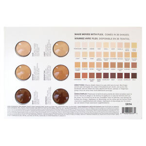 Milk Makeup Flex Foundation Stick - 6 shades, SAMPLE Card