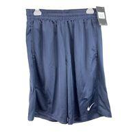 New Nike Men's Size M Medium Blue Loose Fit Basketball Shorts Athletic Gym NWT