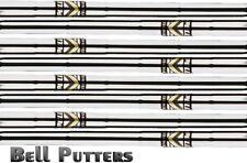 "Eight (8) Apollo Standard Steel Golf Iron Shaft-A/L Senior/Lady Combo Flex-40"""