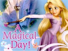 16 TANGLED INVITATIONS Rapunzel Birthday Girls Disney Party Fill-In Princess NEW