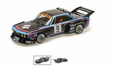 BMW 3.5 CSL - Peltier/De Fierlant/Grohs –1000k Nürburg. 1976 #9 -Minichamps-1:18