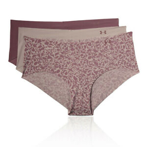 Under Armour Womens PS Hipster Print Underwear - Purple Sports Running Gym