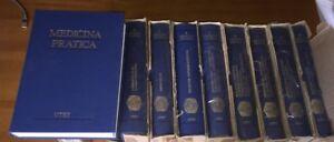 MEDICINA PRATICA '90 UTET 9 vol ENCICLOPEDIA biblioteca base personale sanitario