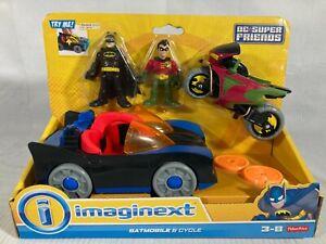 Imaginext DC Super Friends Batman & Robin Set by Fisher-Price NEW