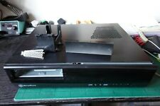 SilverStone SST-ML03B - Milo Slim HTPC Micro ATX Silent Computer Case, black