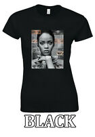 "Rihanna RiRi ""WHAT THE QUEEN CONQUER"" Best Gift T-shirt Men Women Unisex V94"