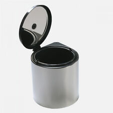 Pattumiera tonda inox L. 11 sottolavello cucina 1 cesto secchio con manico PATT1