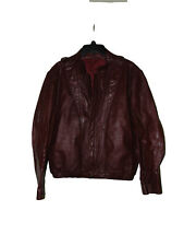Reddish Brown Leather Jacket Small ?