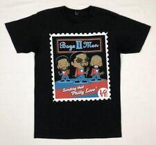 Boyz II Men Womens T-Shirt Sz Small Philly Love Park S/S Black A5