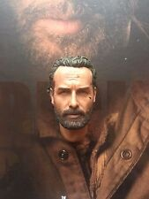 THREEZERO THE WALKING DEAD TWD Rick Grimes TESTA SCOLPIRE Loose SCALA 1/6th