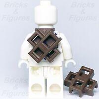2 x Ninjago LEGO® Dark Brown Ninja Scabbard for two Katana Swords Genuine Parts