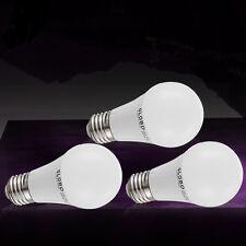 3er Set 7 Watt SMD-LED 3000 Kelvin Leuchtmittel E27 Sockel warmweiss 560 Lumen