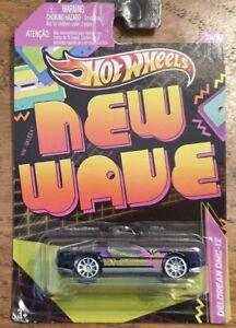 Diecast Hotwheels Jukebox NEW WAVE DELOREAN DMC-12