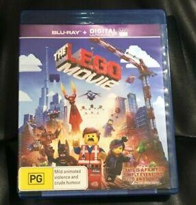 The Lego Movie (Blu-ray, 2014) Very Good Condition Region B
