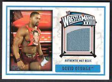 WWE 2012 (Topps) WHITE BORDER AUTHENTIC WRESTLING MAT RELIC Card: DAVID OTUNGA