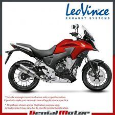 HONDA CB 500 X 2013 13 LEOVINCE TERMINALE SCARICO LV ONE EVO ACCIAIO INOX 8757E
