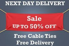 Sale up to 50% off - PVC Banner, SIGN Retail - 1.5m WIDE - NEXT DAY DELIVERY