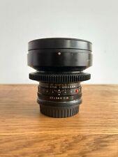 Cine-modded/Cinevised Leica Leitz 19mm Elmarit-R f/2.8 (Duclos gear/EF mount)