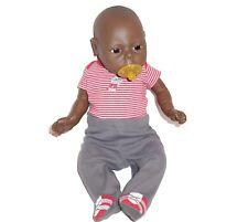 Reborn Anatomically Correct Vinyl Newborn BOY Doll African American Educational