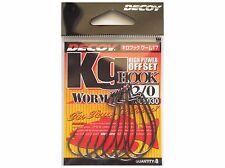 Decoy KG Hook Worm 17 High Power Offset Hook - Select Size(s)