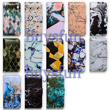 Bcov Marble Art Wallet Leather Cover Case For Samsung Galaxy Note 5/4/3 S7 S6 S5