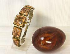Women Vintage Сocktail Watch CHAIKA , Small Ladies Watch, Enamel Porcelain