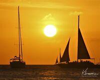Aruba Sunset Photo Artwork Print Original Tranquility Various Sizes & Options