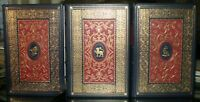 FRANKLIN LIBRARY & OXFORD UNIVERSITY PRESS, 3 VOLUMES OF WILLIAM SHAKESPEARE