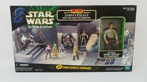 Hasbro Star Wars Power Of The Force Jabba's Palace 3D Display Diorama