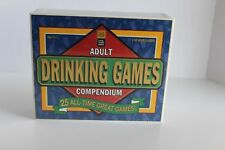 NEW Adult Drinking Games Compendium Crazy Coyote 25 All-Time Great FACTORY SEALE