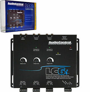 AudioControl LC6i 6 Channel Car Stereo Line Output Converter Internal Summing