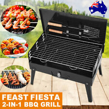 Outdoor Camping Picnic Barbecue BBQ Roast Charcoal Grill Foldable Portable