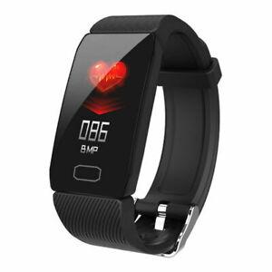 Smart Bracelet Watch Fitness Tracker With Stopwatch - Pedometer - Bluetooth 4.0