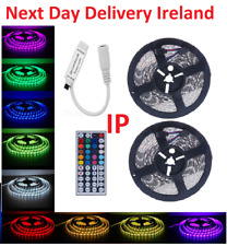 10M 5050 Waterproof IP65 SMD RGB 60 LED Strip Fairy Party Lights Lamp 44 Remote